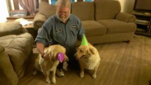 They did not like their party hats!